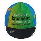 Boné De Ciclismo Cap Campeonato Brasileiro De Bike Polo 75ce2a19c20
