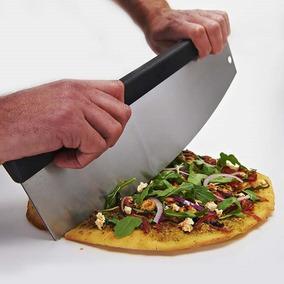 Cuchilla Para Pizza Media Luna En Acero Inoxidable