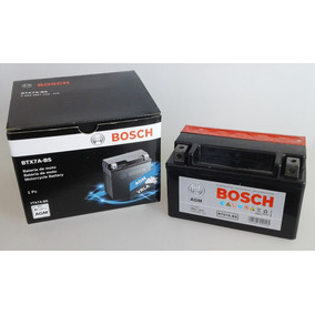 Bateria Bosch Moto Con Acido 12v 6ah (150x87x93) Ytx7a-bs