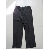 Pantalón De Vestir En Negro Marca Louis Raphael T34 X 30