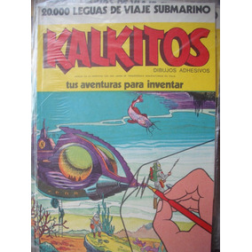 Kalkitos 20.000 Leguas De Viaje Submarino Nuevo!! Sin Uso !!