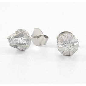 Brincos Solitarios Diamante 12k C130421 - Joias e Relógios no ... bbfaa08ca4