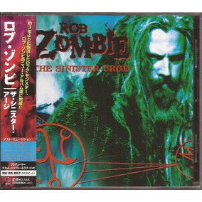 Rob Zombie Cd The Sinister Urge Cd Japon Con Obi