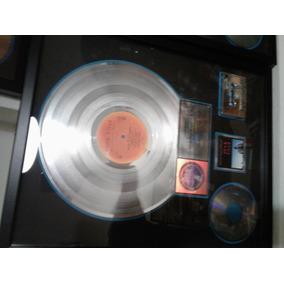 Distinción A Pink Floyd - Disco De Platino - Cassette Vinilo
