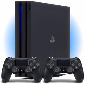Playstation 4 Pro 1tb Ps4 4k Bivolt 2 Controles