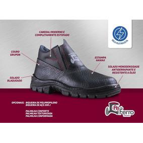 35c60f9b87d62 Sapato De Segurança Para Telhado Outras Marcas - Sapatos no Mercado ...