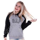 Moleton, Gap Casaco Blusa De Frio Modelo Unissex Promoção