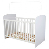 Cuna Cama Bebe Infantil Blanca