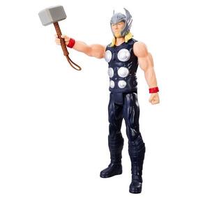 Brinquedos Menino Boneco 30cm Thor Com Martelo Hasbro C0758