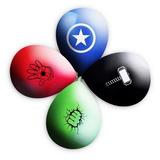Balão Vingadores 11 Polegadas - 25 Unidades