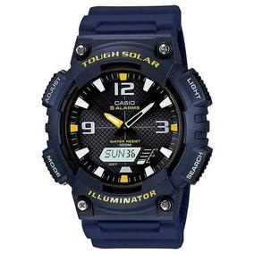 e6889848ef5 Relógio Casio Edifice Ef-316 D-2av Calendário Wr-100m Az. Santa Catarina · Relogio  Casio Tough Solar Luz Led Aq-s810w-2avdf 100m