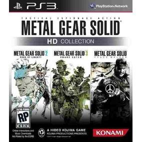 Metal Gear Solid Hd Collection Ps3 Psn Receba Hoje