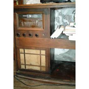Mueble Antiguo Con Radio General Electric