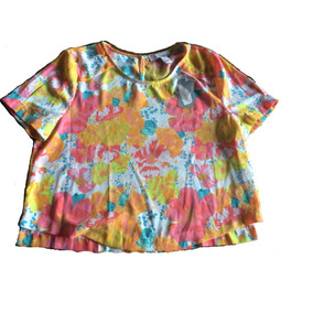 Divina Camisa Colorida Forever 21 Talle S Nueva Con Etiqueta