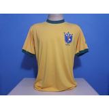 Camisa Retrô Brasil Copa 1982 - Pronta Entrega N°10 Zico becacbe5d278c