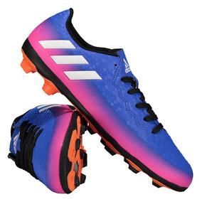 Chuteira Adidas Messi 16.4 Dourada - Chuteiras de Society para ... 74b07816e11c1