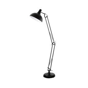 Lámpara De Pie Articulada Borgillio, Negro - Eglo Eg0570