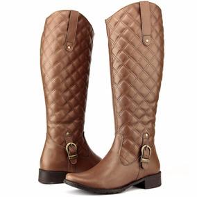 7e126b1f0f6 Cintinho Fininho Marrom Com Fivela Sapatos Feminino Botas - Sapatos ...