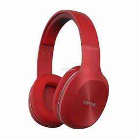 Edifier W800 Bt Auricular Bluetooth Recargable Rojo On Ear