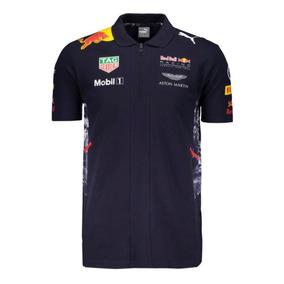 Camiseta Polo Puma Red Bull Racing Team - Masc - Original- G