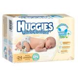 Pañal Huggies Ultraconfort Para Recien Nacido Talla Unisex