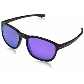 Óculos De Sol Oakley Enduro - Black Ink/violet Iridium Pol.