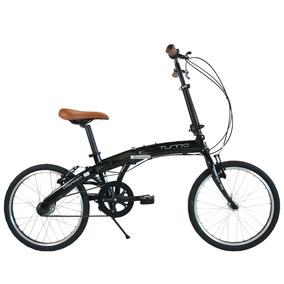 Bicicleta Plegable Turbo Origami 2.0 Nexus R-20 Negra 15163