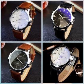 Kit 2 Relógio Masculino Yazole Moda Luxo Social Frete Gratis