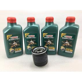 Kit Troca Oleo Castrol Magnatec 5w40 50888 + Filtro Original