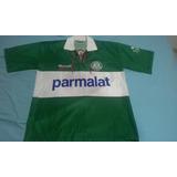 f63df173f9 Camisa Palmeiras 1996 Branca Rhumell - Camisas de Times de Futebol ...
