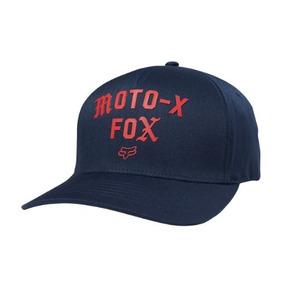 Gorra Fox Arch Flexfit Azul Moda Casual