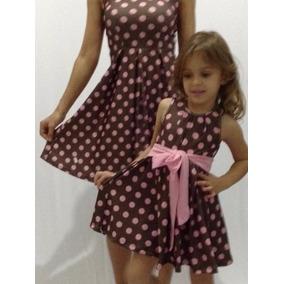 Kit 3 Vestidos Vintage 1 Adulto 2 Infantil