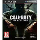 Juego Físico Sony Ps3 Call Of Duty Black Ops + Resistance !