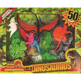 Set De Juego De Dinosaurios X 50 Piezas