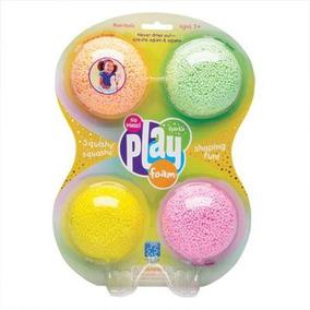 Playfoam Pack 4 Fosforecentes Juego De Formas 3-8 Años