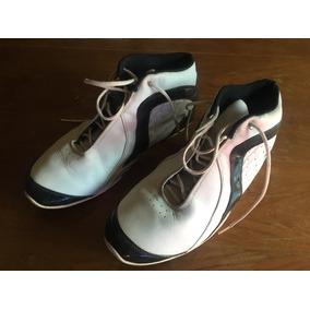Zapatillas Básquet And1 Blancas Y Negras Como Nuevas