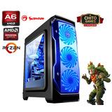 Pc Gamer Marvo Scorpion 1 Gaming Amd A6 9500 8gb Ram Ddr4