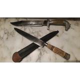 Cuchillo Puñal Solingen 31cm Asta Ciervo, Guampa,plateria Cr