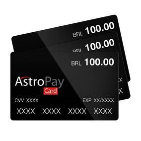 Astropay Cartão De Brl 100,00 Para Jogos Online