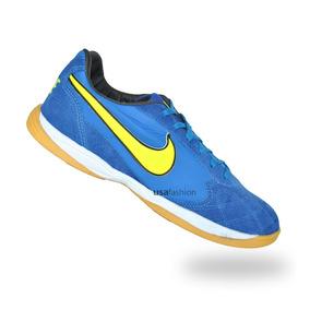 045cec2f6f Tenis Nike Azul E Branco - Chuteiras para Futsal no Mercado Livre Brasil