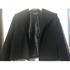 Sobretodo/chaqueta De Mujer De Lana Talle S