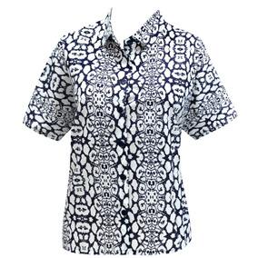 La Leela Camisa Hawaiana Blusas Botón De La Parte Superior 8481da2c8ba81
