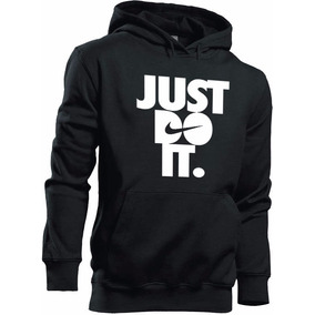 5807f8b5fd Blusa De Frio Casaco Moletom Just Do It Moleton