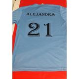 Camiseta Personalizada Seleccion Uruguaya