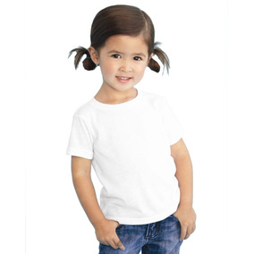 Playera Blanca Para Sublimar Niño Dry Fit