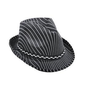 Chapeu Estilo Fedora Risco Giz - Chapéus para Masculinos no Mercado ... 6d153535175