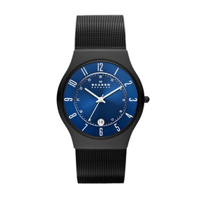 Reloj De Hombre Skagenmodelo Grenen En Titanio Negro
