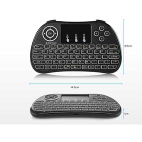 Mini Teclado Wireless Con Touchpad Control Multimedia