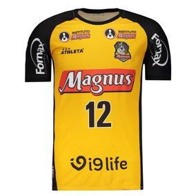 Camisa Athleta Magnus Futsal I 2018 12 Falcão 25eed82953dc9