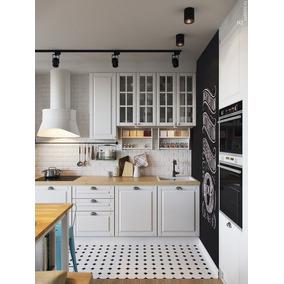 Mueble Cocina Integral Linea Clásica Con Mesada - Muebles de Cocina ...
